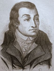 O acusador público Fouquier-Tinville, por artista desconhecido.
