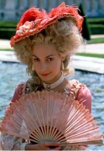 Ute Lemper como Maria Antonieta.