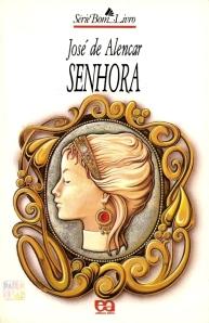 """""""Senhora"""", obra  de José de Alencar."""