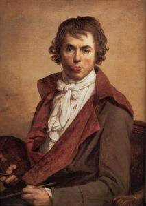 Autorretrato de Jacques Louis David, o pintor da Revolução.
