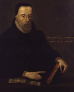 William Tyndale, por artista desconhecido.