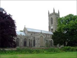 Salle Church, Norfolk, onde se acreditava que o corpo de Ana Bolena poderia ter sino novamente sepultado.
