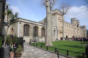 Capela de St. Peter ad Vincula, na Torre de Londres.