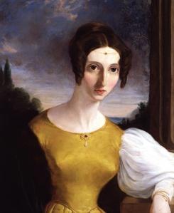 Harriet Taylor Mill, por artista desconhecido (c. 1853).