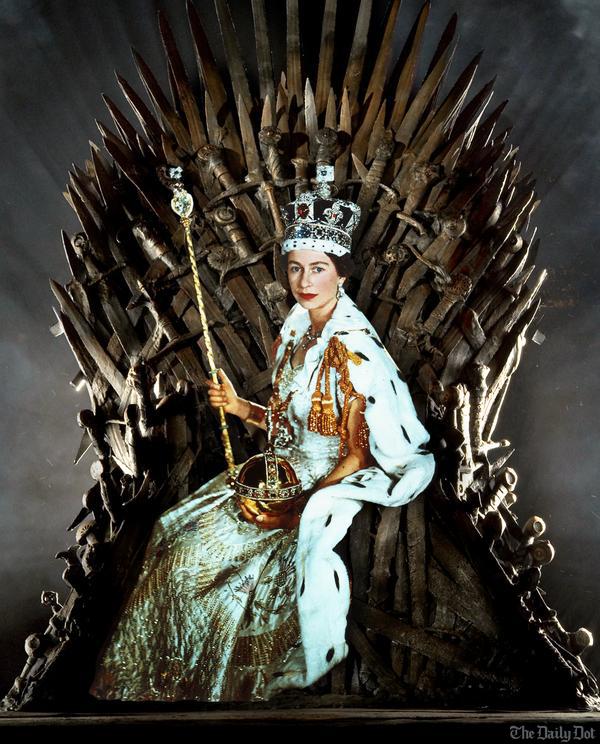 Quem sabe depois dessa ela não pensa em virar seus olhos para os Sete Reinos de Westeros?