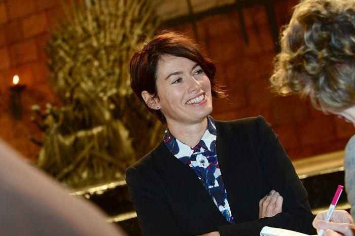 Lena Headey, atriz que interpreta a rainha Cersei Lannister.