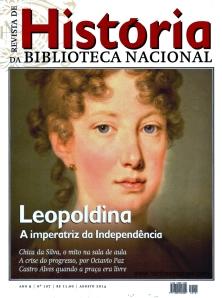 Capa da edição n° 107 da Revista de História da Biblioteca Nacional.