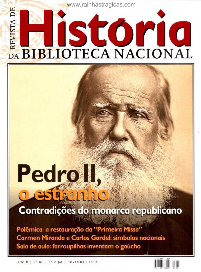 Capa da edição n° 86 da Revista de História da Biblioteca Nacional.