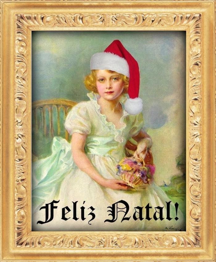 O Rainhas Trágicas gostaria de desejar para todos os seus leitores e leitoras um natal repleto de alegria, paz e saúde. Boas Festas! (imagem: Rainha Elizabeth II aos 7 anos de idade por Philip de László, 1933).