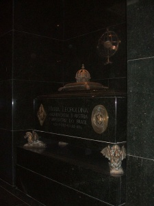 Túmulo de D. Leopoldina.