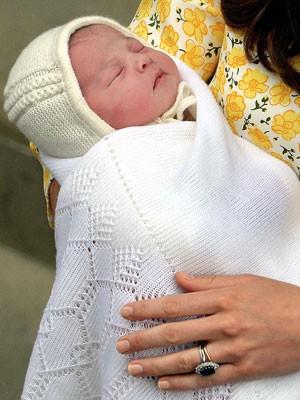 A pequena Charlotte Elizabeth Diana nasceu neste sábado, dia 2.