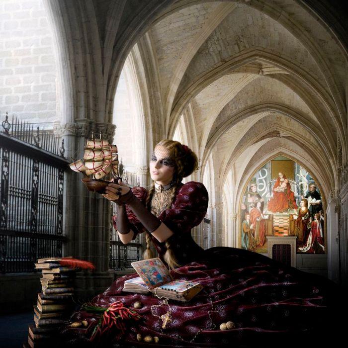 Isabel da Espanha, a católica.