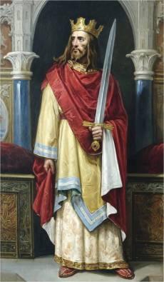 Retrato imaginário de João II de Castela, por José María Rodríguez de Losada (1892-1894).