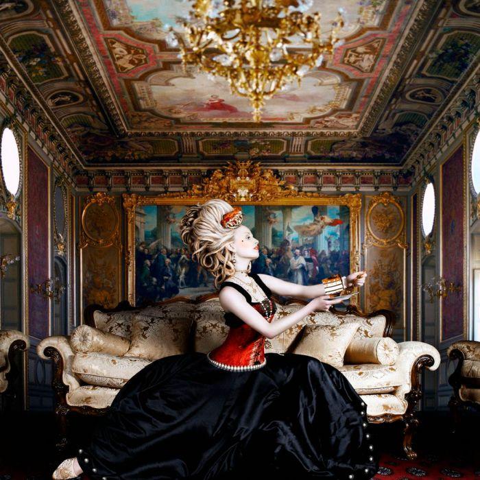 Maria Antonieta, a rainha extravagante.