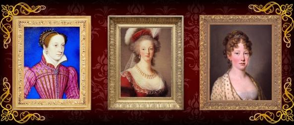 Mary Stuart, Antonieta e Leopoldina