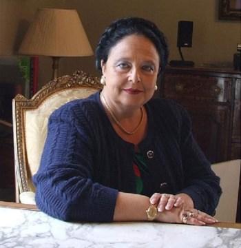 Maria Vladmirovna, atual chefe da casa imperial russa.