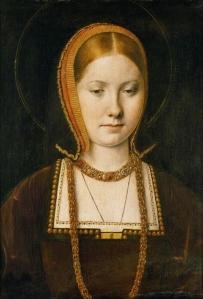 Catarina de Aragão, por Michael Sittow (c. 1503).
