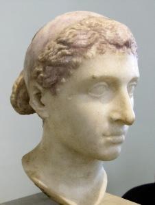 Busto de Cleópatra.