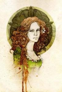 Margaery Tyrell, a rainha consorte, por Elia Fernández.