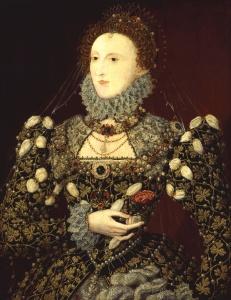 Elizabeth I da Inglaterra, por Nicholas Hilliard.