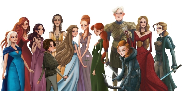 The Women of Game of Thrones series by Leann Hill - Cópia
