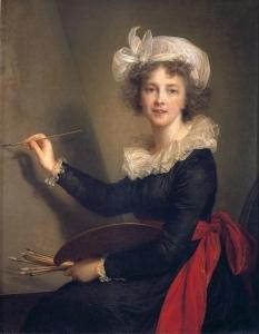 Autorretrato de Élisabeth Vigée Le Brun (1790).