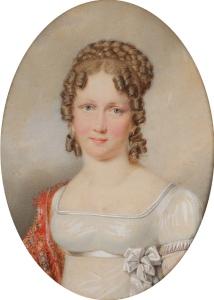 Leopoldina aos 18 anos, por artista desconhecido (1815).