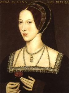Ana Bolena, mãe de Elizabeth I (artista desconhecido).
