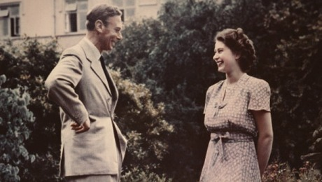 King George VI and Elizabeth