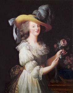 La Reine en Gaulle, por Élisabeth Vigée Le Brun (1783).