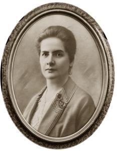 """Francisca Senhorinha da Motta Diniz, redatora de """"O Sexo Feminino""""."""