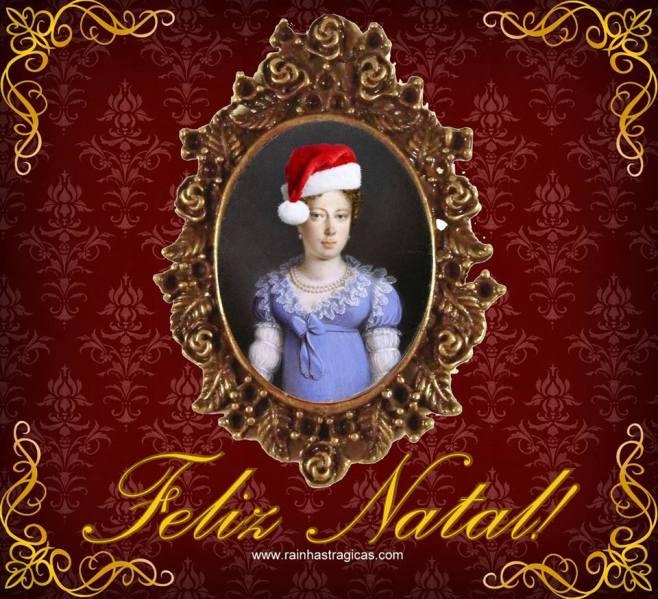 Cartão de Natal Dona Leopoldina