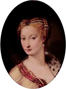 Diana de Poitiers, por Francesco Salviati.