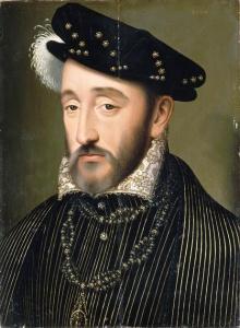 Rei Henrique II da França, por François Clouet.