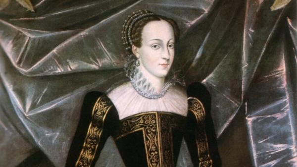 Mary Stuart, rainha da Escócia, por artista desconhecido.