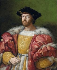 Lourenço II de Médicis, duque de Urbino, por Raphael (1515-19).
