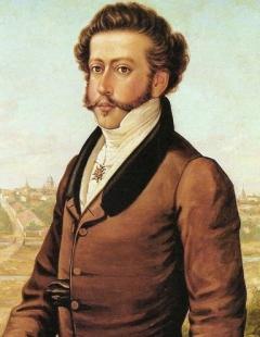 D. Pedro I do Brasil, por Benedito Calixto. .