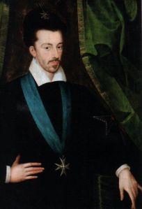Henrique III da França, por Étienne Dumonstier (c. 1578).