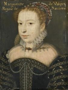 Margarida de Valois aos 19 anos, por François Clouet.