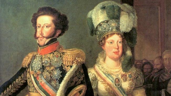 Resultado de imagem para HISTORIA DE princesa leopoldina esposa d pedro