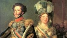 Pedro I e Leopoldina