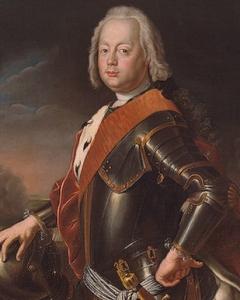 Cristiano Augusto von Anhalt-Zerbst, por Antoin Pesne (c. 1746).
