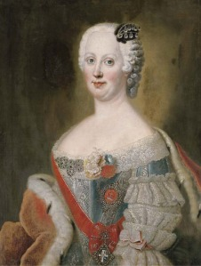 Joana Elizabeth de Holstei-Gottorp, atribuído a  Antoine Pesne.