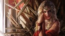 Cersei Lannister, by Magali Villeneuve - Cópia