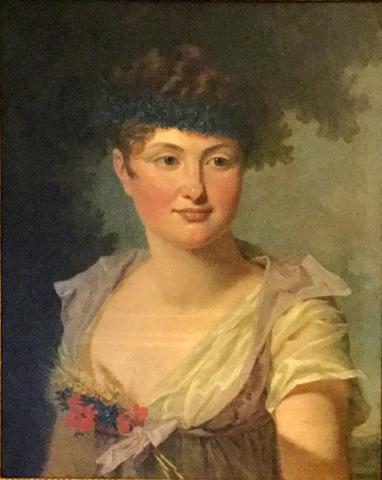 Possível retrato de Dona Leopoldina, pintado por Nicolas-Antoine Taunay.