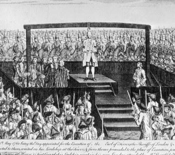 Execução pública na Inglaterra;