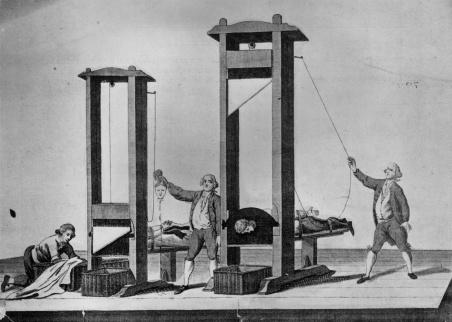 Execução pela guilhotina