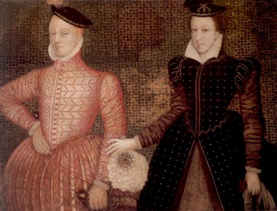 Henry Stewart e Mary Stuart.