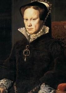 Maria I Tudor, rainha da Inglaterra e da Espanha, por Antônio Mouro (1554).
