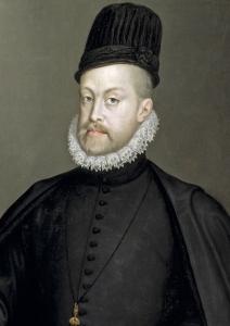 Felipe II, por Sofonisba Anguissola (1564).